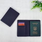 블랙사피아노여권지갑(철망)