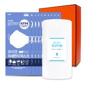 코로나 생활안심세트VM108 (항균타올1P + 올가드KF94마스크 10매)