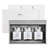 자연우리 안데스소금 3종 유리병 선물세트(쇼핑백有)