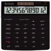 [누리안]탁상용 칼라일반계산기NR-805K블랙
