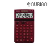 [누리안]탁상용 칼라 일반계산기NR-805R 레드