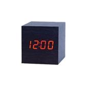 LED시계-정사각(블랙)