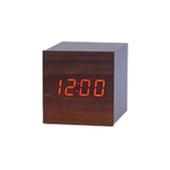 LED시계-정사각(진브라운)