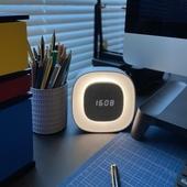 GANSO 시계 무선 LED 무드등