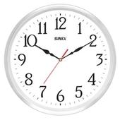 시닉스 알루미늄 행운의 무소음벽시계 S355A