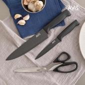 [아비스] 주방용 칼,가위 3종 세트