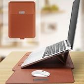 모던오피스 다용도 고급 가죽 노트북 태블릿 기능성 스토리지 가방 CA450