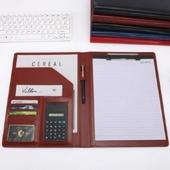모던오피스 A4 비즈니스 메모 풍성 바인더 CA104