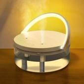 포레스트 대용량 듀얼무선 LED 가습기 1 200ml Y45