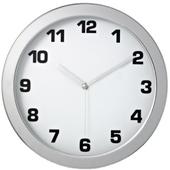 JS3022크롬 무소음벽시계(벽걸이시계)