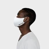 [밴드 마스크 성인] 로고인쇄 끈조절가능 패션마스크 제작