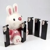 토끼 먹색 전자라이타