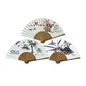 오죽선(중/기성/대나무,매화,난초) 전통부채