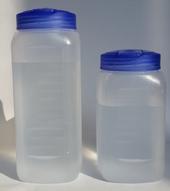 [물통] pp 냉장고용 투명물병 0.6리터,1.0리터