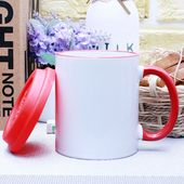 오키 직선 핸드라인 에코뚜껑 머그컵
