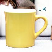 오키-써니투톤옐로우머그컵