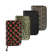 [통장지갑] 고급 꽃무늬 통장집