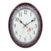 볼록꽃다이얼 실버벽시계(벽걸이시계)