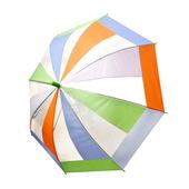 48 무지개 호루라기 투명우산/아동우산
