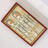 1109_B. 황금 선학수저 2벌