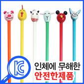 뉴동물캐릭터목각연필