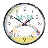 300-5 크롬벽시계(무소음)