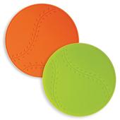 스포츠 실리콘냄비받침(홈런볼)