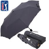 PGA 3단수동 로고바이어스 우산