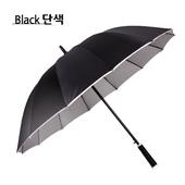 CL 60포리실버 장우산(검정우산)