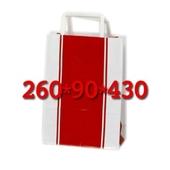빨간 자동기계봉투 종이쇼핑백 대/중/소/특소
