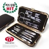 쓰리세븐 HD-3432X(블랙)실버 /손톱깎이세트