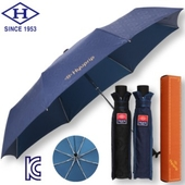 협립 3단 내부펄 격자 완전자동우산(남자양산)