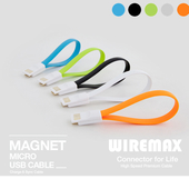 USB 마이크로 5핀 마그넷 케이블 21cm