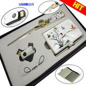 자개명함케이스+봉투칼+USB매모리/8~32G