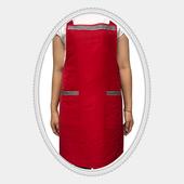 앞치마-빨강포인트(H형)국내산
